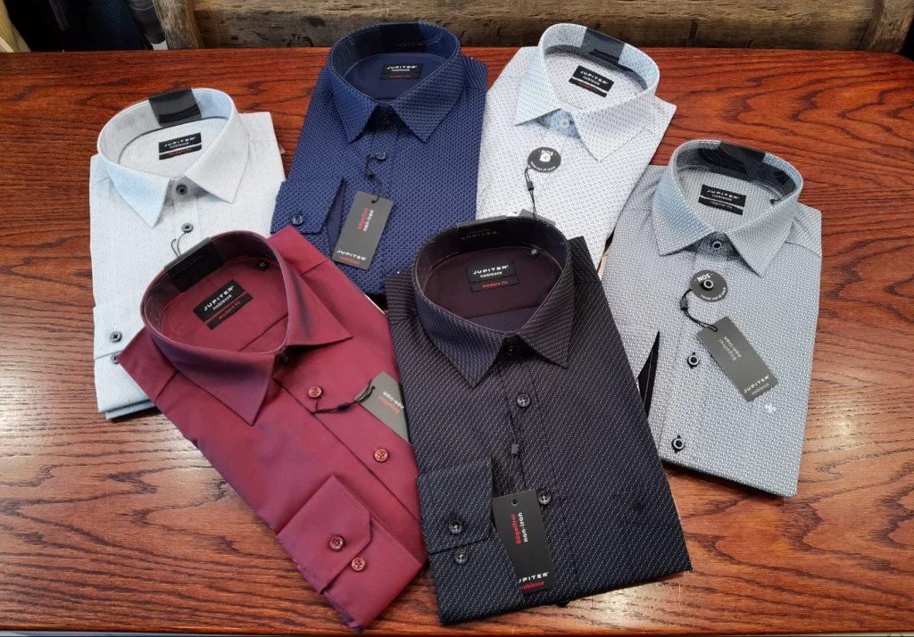 srajce z dolgimi rokavi, srajce s kratkimi rokavi, toplejše moške srajce